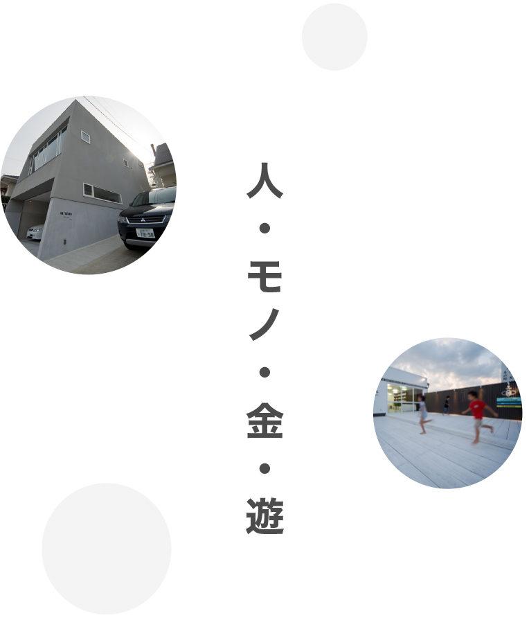 人・モノ・金・遊