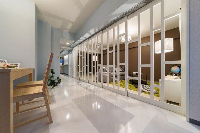 マンションの内装デザイン。